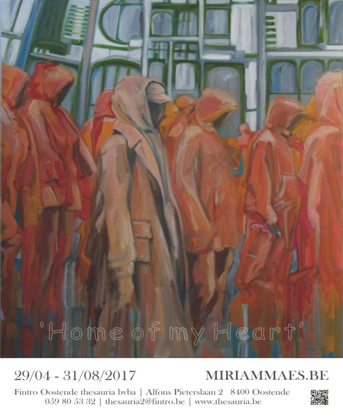 Exhibition Miriam Maes | Home of my Heart 2017 | 29/04/2017-31/08/2017